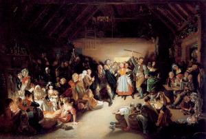 snap-apple-night-by-daniel-maclise-1833