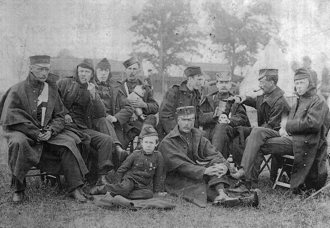 28th Perth Regiment c 1910