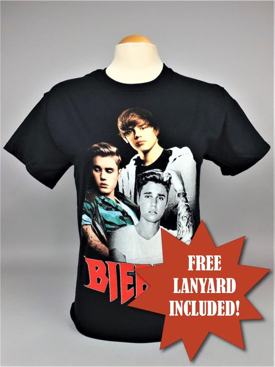 Justin Bieber Homage T-Shirt
