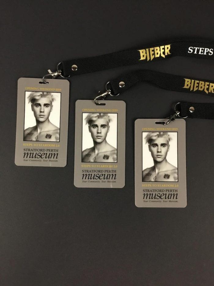 Justin Bieber Cobalt Lanyard 2.0